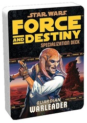 Star Wars:  Force and Destiny - Guardian Warleader Specialization Deck