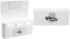 Monster - Triple Deck Box - White
