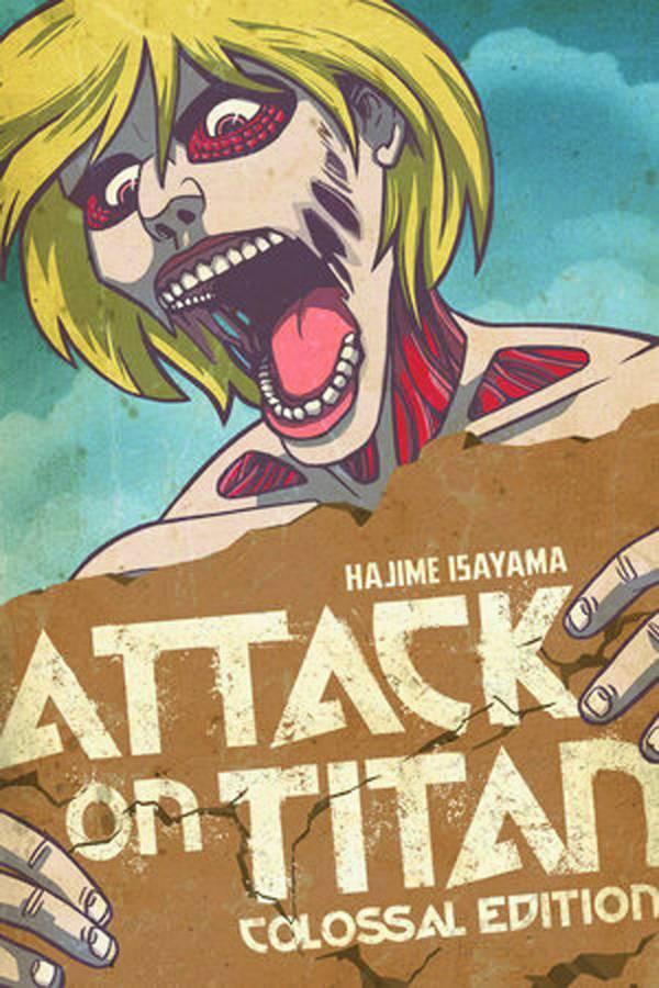 Attack On Titan Colossal Ed Tp Vol 02 (Jul151452)