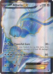 Altaria EX -- 123/124 - Full Art Ultra Rare
