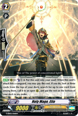 Holy Mage, Elio - G-SD02/006EN