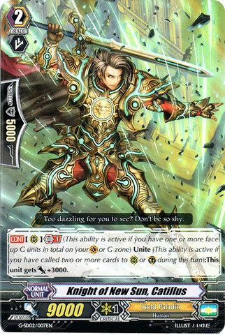Knight of New Sun, Catillus - G-SD02/007EN