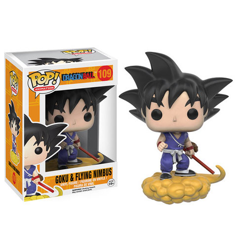 Animation Series - #109 - Goku & Flying Nimbus (Dragon Ball Z)