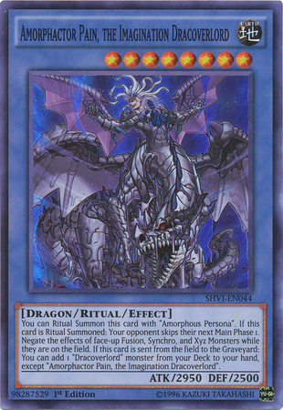 ANGEL TRUMPETEER SHVI-EN001 1ST EDITION YU-GI-OH CARD