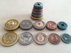 Metal Coins (Scythe) (Jakub Rozalski)
