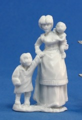 Townsfolk - Mom & Kids - 77087