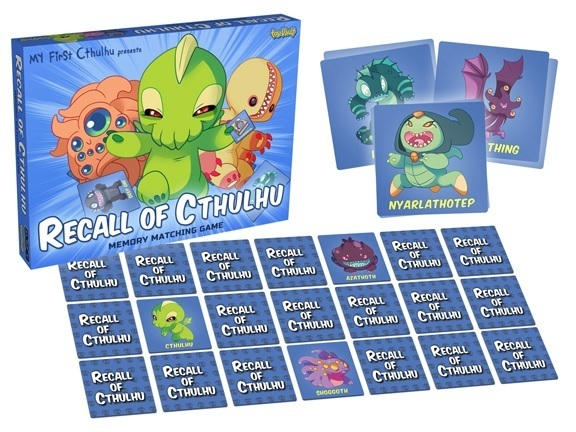 recall of cthulhu memory matching game board card and dice