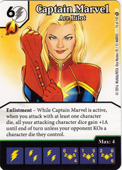 Captain Marvel - Ace Pilot (Die & Card Combo)