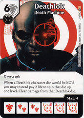 Deathlok - Death Machine (Die & Card Combo)