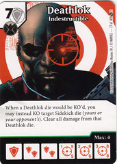 Deathlok - Indestructible (Die & Card Combo)