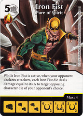 Iron Fist - Pure of Spirit (Card Only)