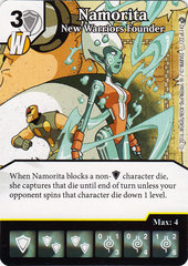 Namorita - New Warriors Founder (Die & Card Combo)