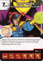 Tony Stark - Sorcerer Supreme of Earth 9810 (Die & Card Combo)