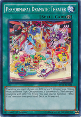 Performapal Dramatic Theater - YS16-EN021 - Common - 1st Edition on Channel Fireball