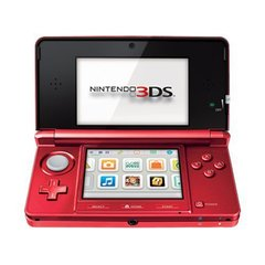 ZSYS Nintendo 3DS Flame Red