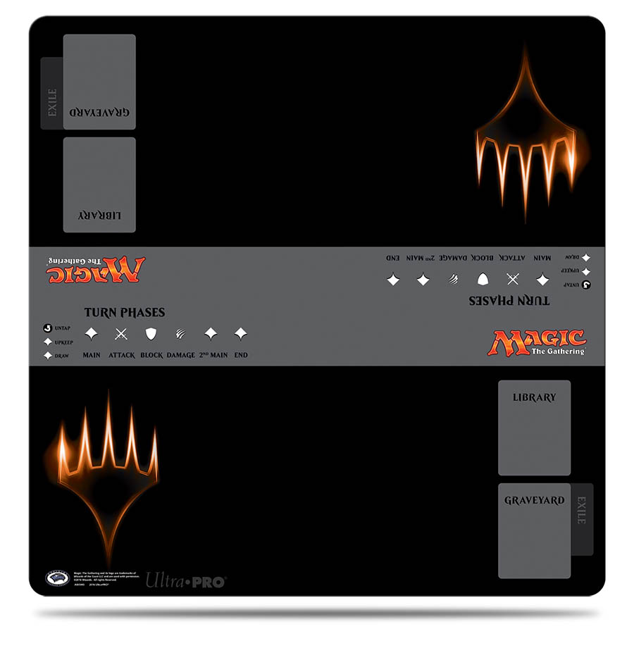 2-Player 24 x 24 Battlefield Playmat for Magic