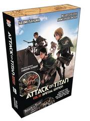 Attack On Titan Graphic Novel Vol 19 Special Edition With Dvd