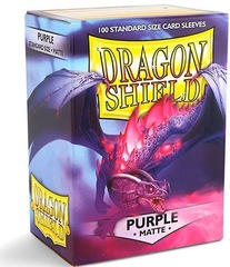 Dragon Shield Sleeves: Matte Purple (Box of 100)