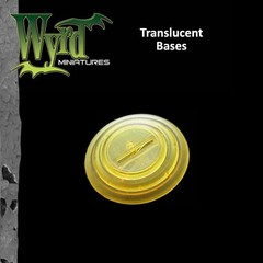Malifaux: Accessories - Gold Translucent Bases 50mm (3)