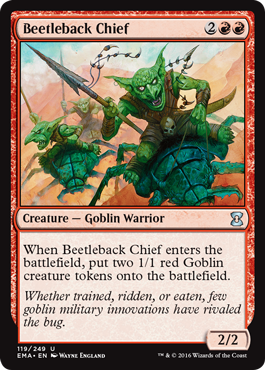 Beetleback Chief - Foil