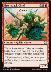 Beetleback Chief - Foil on Channel Fireball