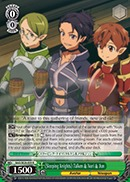 Sleeping Knights Talken & Nori & Jun - SAO/SE26-E09 - R - Foil