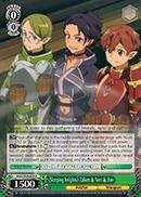 SAO/SE26-E09 R Sleeping Knights Talken & Nori & Jun - Foil