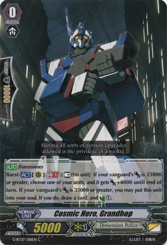 Cosmic Hero, Grandhop - G-BT07/081EN - C