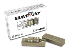 Ultra PRO Gravity Dice D6 Desert 2pc Set