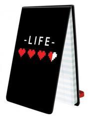 Life Pad - 8-Bit Hearts