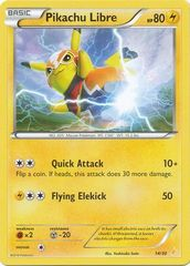 Pikachu Libre - 14/30 - XY Trainer Kit: Pikachu Libre & Suicune (Pikachu Libre)