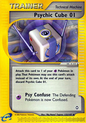 Psychic Cube 01 - 132/147 - Uncommon on Channel Fireball