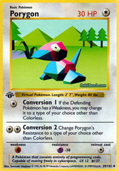Porygon - 39/102 - Uncommon - 1st Edition