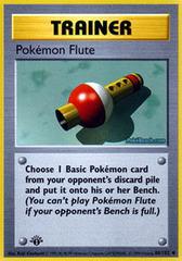 Pokemon Flute - 86/102 - Uncommon - 1st Edition