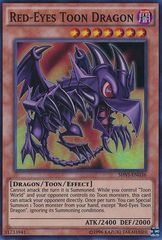 Red-Eyes Toon Dragon - SHVI-EN036 - Super Rare - Unlimited Edition