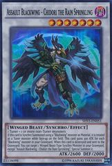 Assault Blackwing - Chidori the Rain Sprinkling - SHVI-EN051 - Super Rare - Unlimited Edition