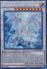 Blue-Eyes Spirit Dragon - SHVI-EN052 - Secret Rare - Unlimited Edition