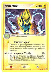 Manectric - 38/107 - Uncommon on Channel Fireball