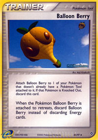 Balloon Berry - 82/97 - Uncommon