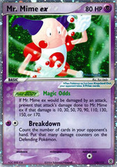 Mr. Mime-EX - 110/112 - Rare Holo EX