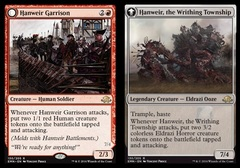 Hanweir Garrison // Hanweir, the Writhing Township