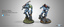 (0286) Stingray 3 Series - Clausewitz Uhlans & Acontecimento Tikbalangs (2) BOX (280286-0586)