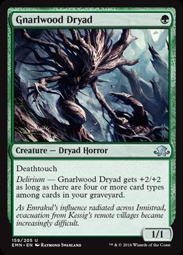 Gnarlwood Dryad - Foil