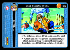 Blue Seizing Drill - C15