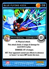 Blue Flying Kick - C19 on Channel Fireball