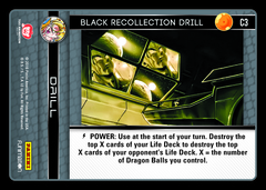 Black Recollection Drill - C3 - Foil on Channel Fireball