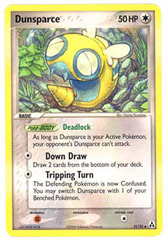 Dunsparce - 31/92 - Uncommon on Channel Fireball