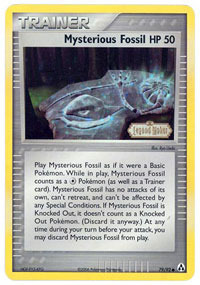 Mysterious Fossil - 79/92 - Common