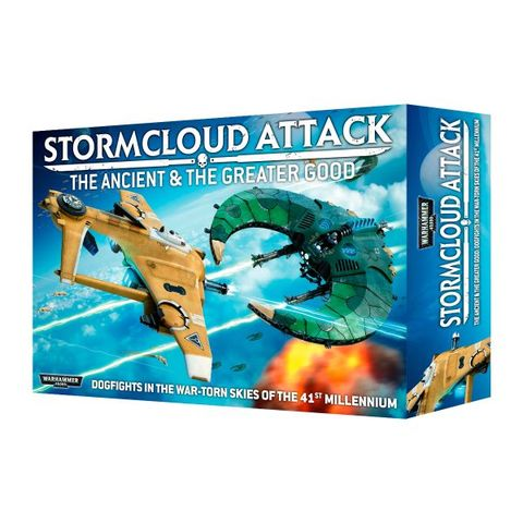 Stormcloud Attack - The Ancient & The Greater Good