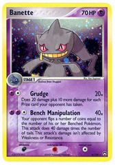 Banette - 4/108 - Holo Rare on Channel Fireball